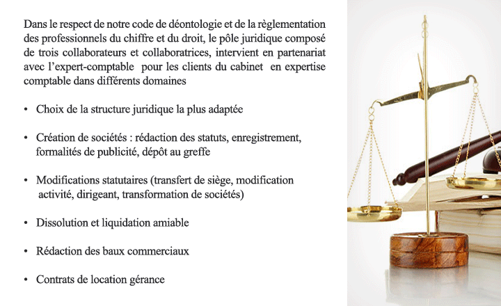 mission juridique